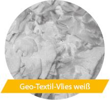 Geo-Textil-Vlies weiß