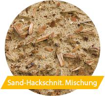 Sand-Hackschnit. Mischung
